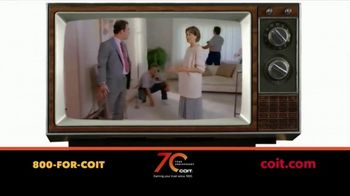 COIT 70 Year Anniversary TV Spot, 'Blast From the Past: New Carpets and Drapes' - Thumbnail 3