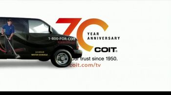 COIT 70 Year Anniversary TV Spot, 'Blast From the Past: New Carpets and Drapes' - Thumbnail 6