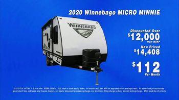 La Mesa RV TV Spot, '2020 Winnebago Micro Minnie: Discounted Over $12,000' - Thumbnail 4