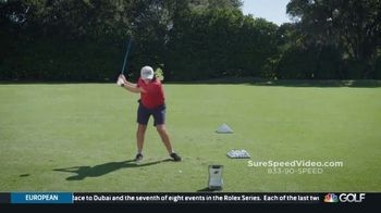 Revolution Golf Sure-Speed TV Spot, 'Shortcut for Increased Speed' Featuring Martin Hall - Thumbnail 2