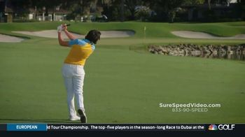 Revolution Golf Sure-Speed TV Spot, 'Shortcut for Increased Speed' Featuring Martin Hall - Thumbnail 6