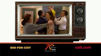 COIT 70 Year Anniversary TV Spot, 'A Blast From the Past: Air Ducts'