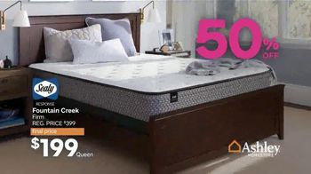 Ashley HomeStore Black Friday Mattress Sale TV Spot, 'Chime or Anniversary' - Thumbnail 9