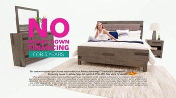 Ashley HomeStore Black Friday Mattress Sale TV Spot, 'Financing on Tempur-Pedic' Song by Midnight Riot - Thumbnail 5