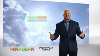 Power Home Solar & Roofing TV Spot, 'Jayson Waller: Declare Your Independence' - Thumbnail 1