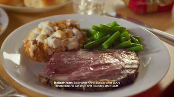 Golden Corral TV Spot, 'Holiday Feast + Prime Rib Weekends' - Thumbnail 4