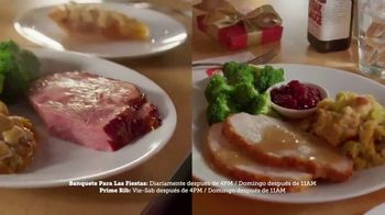 Golden Corral TV Spot, 'Holiday Feast y Prime Rib Weekends' [Spanish]