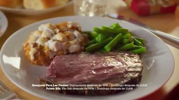 Golden Corral TV Spot, 'Holiday Feast y Prime Rib Weekends' [Spanish] - Thumbnail 2