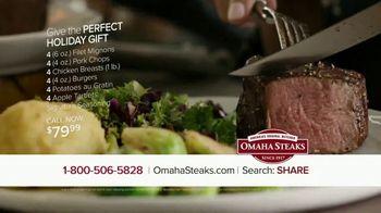Omaha Steaks TV Spot, 'Perfect Holiday Gift' - Thumbnail 9