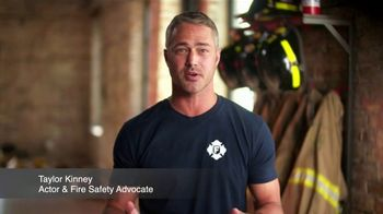 First Alert TV Spot, 'Fire Safety With Taylor Kinney' - Thumbnail 1