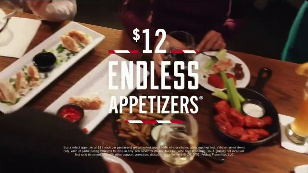 TGI Friday's $12 Endless Appetizers TV Commercial, 'People of All Stripes'