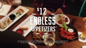 TGI Friday\'s $12 Endless Appetizers TV Spot, \'People of All Stripes\'