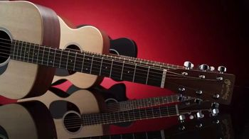 Guitar Center TV Spot, 'Great Gifts: Martin X Series and Epiphone Les Paul'