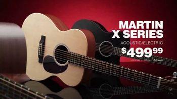Guitar Center TV Spot, 'Great Gifts: Martin X Series and Epiphone Les Paul' - Thumbnail 3