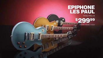 Guitar Center TV Spot, 'Great Gifts: Martin X Series and Epiphone Les Paul' - Thumbnail 6
