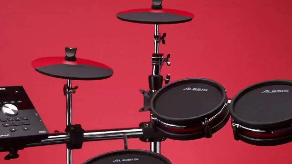 guitar center tv commercial 39 great gifts drum set and mesh head kit 39. Black Bedroom Furniture Sets. Home Design Ideas
