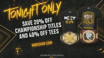 WWE Shop TV Spot, 'We Are: 20 Percent Off Titles & 40 Percent Off Tees'