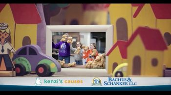 Law Offices of Bachus & Schanker TV Spot, 'Kenzi's Causes: Toy Drive' - Thumbnail 2