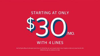 U.S. Cellular TV Spot, 'We Heard You: New Unlimited Plans Start at $30 Per Month With Four Lines' Song by Macklemore & Ryan Lewis - Thumbnail 8