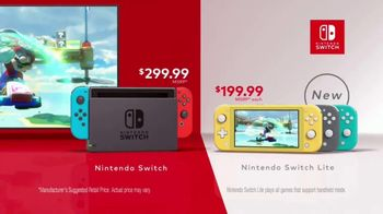 Nintendo Switch & Nintendo Switch Lite TV Spot, 'Our Favorite Ways to Play' - Thumbnail 9