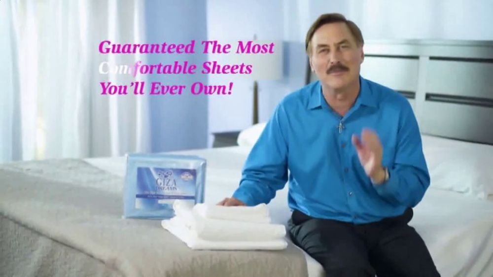 My Pillow Giza Dream Sheets TV Commercial, 'Variety of Colors: Two for One'