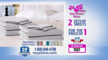 My Pillow Giza Dream Sheets TV Spot, 'Variety of Colors: Two for One' - Thumbnail 5