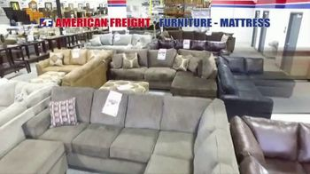 American Freight Tax Time Blowout TV Spot, 'Mattress Sets, Bedrooms and Reclining Furniture' - Thumbnail 1