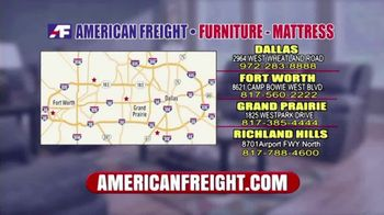American Freight Tax Time Blowout TV Spot, 'Mattress Sets, Bedrooms and Reclining Furniture' - Thumbnail 9