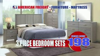 American Freight Tax Time Blowout TV Spot, 'Mattress Sets, Bedrooms and Reclining Furniture'