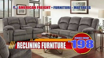 American Freight Tax Time Blowout TV Spot, 'Mattress Sets, Bedrooms and Reclining Furniture' - Thumbnail 5