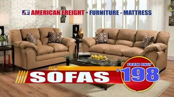 American Freight Tax Time Blowout TV Spot, 'Mattress Sets, Bedrooms and Reclining Furniture' - Thumbnail 6