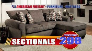 American Freight Tax Time Blowout TV Spot, 'Mattress Sets, Bedrooms and Reclining Furniture' - Thumbnail 7