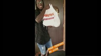 Popeyes Tenders TV Spot, 'ScribeMusic: Free Tenders'
