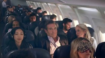 Esurance TV Spot, 'The Middle Seat' Featuring Dennis Quaid