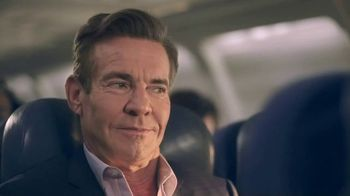 Esurance TV Spot, 'The Middle Seat' Featuring Dennis Quaid - Thumbnail 3