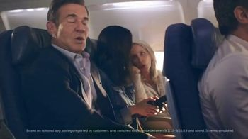 Esurance TV Spot, 'The Middle Seat' Featuring Dennis Quaid - Thumbnail 4