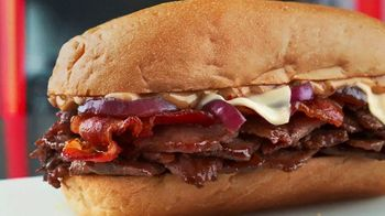 Checkers Bacon Steak Subs TV Spot, 'Break All the Rules'