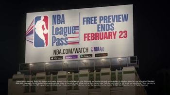 NBA League Pass TV Spot, 'Free Preview' Song by VideoHelper - 110 commercial airings