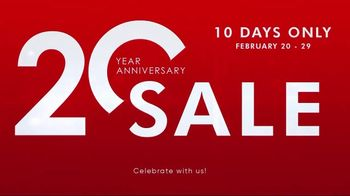 Tennis Express 20 Year Anniversary Sale TV Spot, '70 Percent: Shoes, Gear and Apparel' - Thumbnail 2