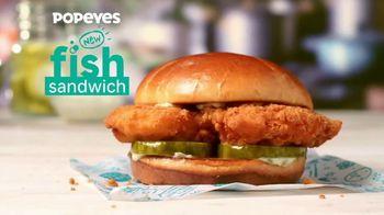 Popeyes Fish Sandwich TV Spot, 'Catch of the Season' - Thumbnail 1