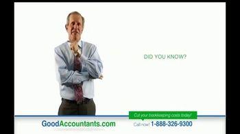 GoodAccountants.com TV Spot, 'Cut Your Bookkeeping Costs' - Thumbnail 1