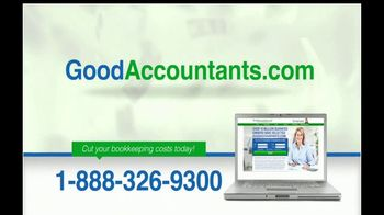 GoodAccountants.com TV Spot, 'Cut Your Bookkeeping Costs' - Thumbnail 7