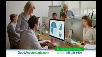 GoodAccountants.com TV Spot, 'Cut Your Bookkeeping Costs'