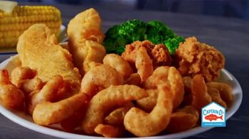 Captain D's Double Dozen Shrimp TV Spot, 'Heard It Right'
