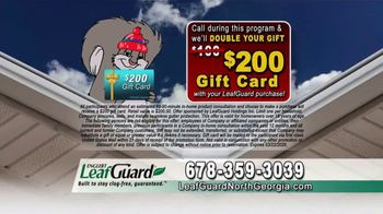 LeafGuard of North Georgia Winter Half Off Sale TV Spot, 'What's in Your Gutters?' - Thumbnail 8