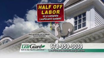 LeafGuard of North Georgia Winter Half Off Sale TV Spot, 'What's in Your Gutters?' - Thumbnail 6