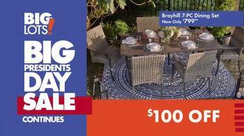 Big Lots Big Presidents Day Sale TV Spot, 'Broyhill Dining Set' - Thumbnail 9