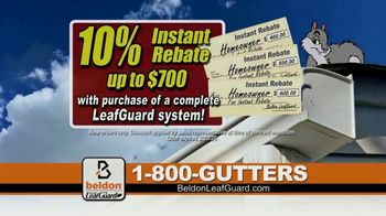 Beldon LeafGuard TV Spot, 'Mold and Mildew: 10 Percent Instant Rebate' - Thumbnail 6
