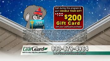 LeafGuard of St. Louis Winter Half Off Sale TV Spot, 'Presidents Day: Special Savings' - Thumbnail 9