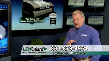 LeafGuard of St. Louis Winter Half Off Sale TV Spot, 'Presidents Day: Special Savings' - Thumbnail 4